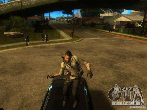 Animation Mod para GTA San Andreas quinto tela