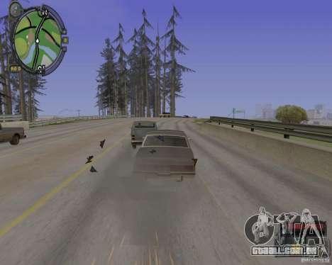 iCEnhancer beta para GTA San Andreas quinto tela