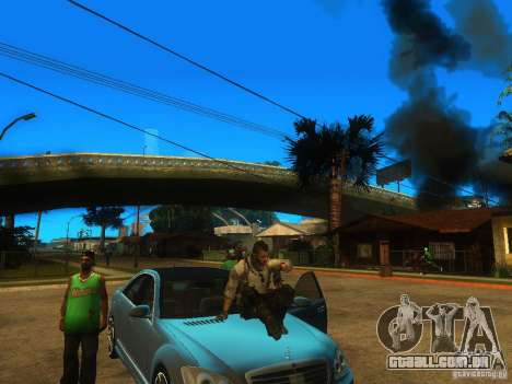 Animation Mod para GTA San Andreas terceira tela