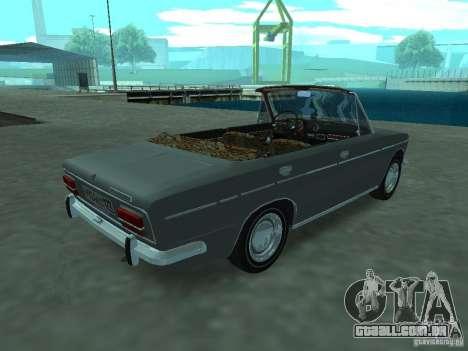 VAZ 2103 Cabrio para GTA San Andreas vista direita