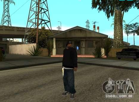 Ice Cube para GTA San Andreas segunda tela