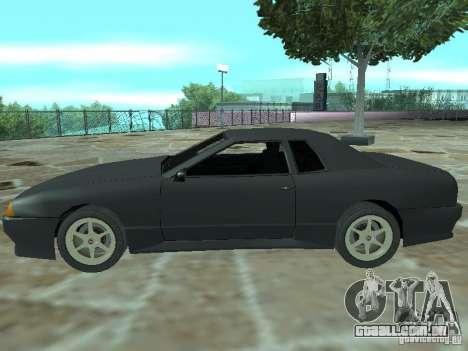 Elegia de Tops conversíveis para GTA San Andreas vista superior