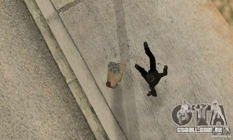 Colisão de GTA 4 para GTA San Andreas terceira tela