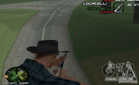 New HUD  v.2 para GTA San Andreas segunda tela