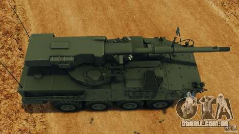 Stryker M1128 Mobile Gun System v1.0 para GTA 4 vista direita