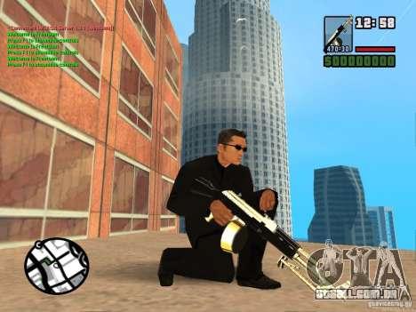 Gun Pack by MrWexler666 para GTA San Andreas por diante tela