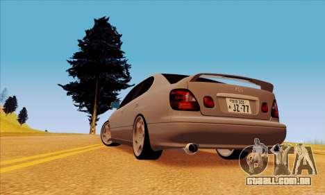 Toyota Aristo para GTA San Andreas esquerda vista