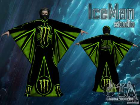 Monster Energy Wingsuit para GTA San Andreas