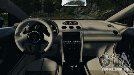 Lamborghini Gallardo LP570-4 Spyder Performante para GTA 4 vista de volta