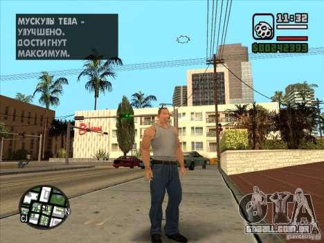 Cj branco para GTA San Andreas segunda tela