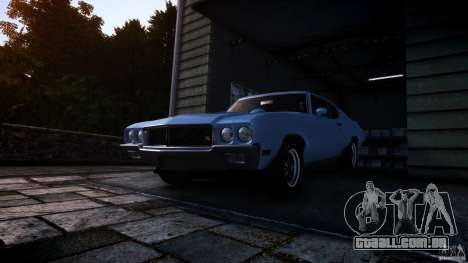 Buick GSX 1970 para GTA 4 vista direita