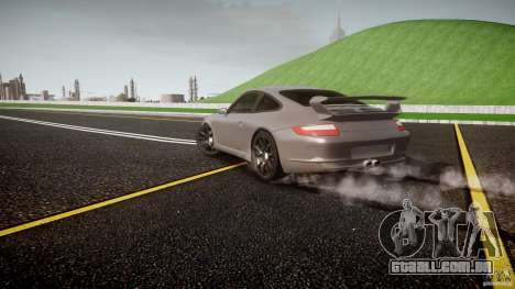 Porsche GT3 997 para GTA 4 motor