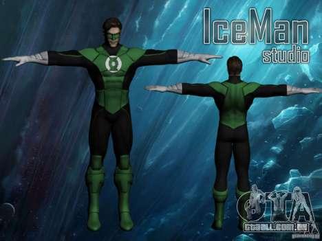 Green Lantern para GTA San Andreas