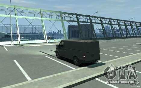 Ford Transit 2011 para GTA 4 traseira esquerda vista