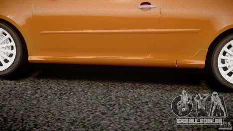 Volkswagen Golf R32 v2.0 para GTA 4 vista inferior