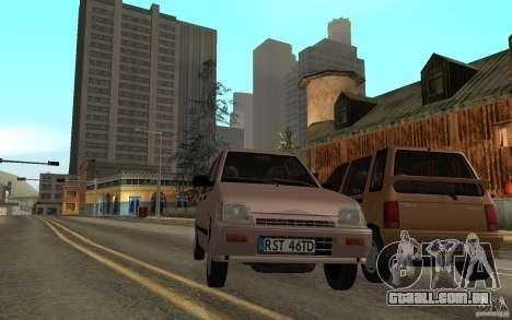 Daewoo Tico SX para GTA San Andreas vista interior