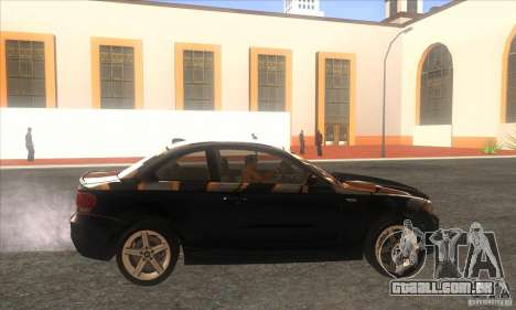 BMW 135i (E82) para GTA San Andreas esquerda vista