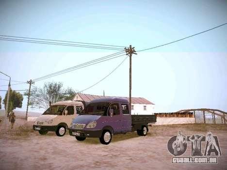 Gazela 33023 para GTA San Andreas esquerda vista