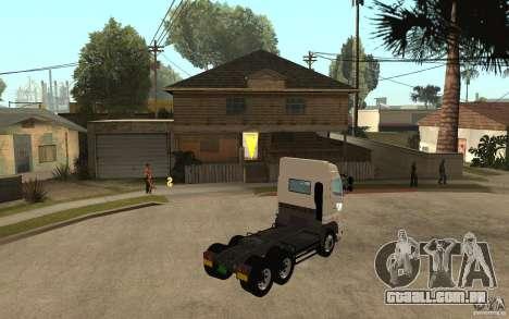 Hino 700 Series para GTA San Andreas vista direita