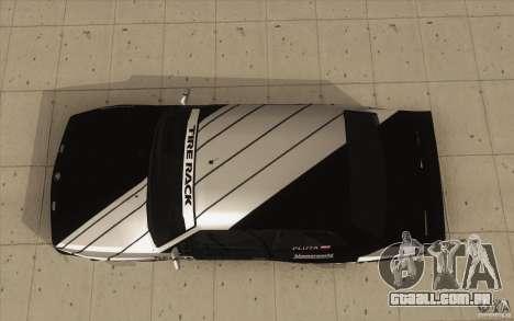 BMW E30 M3 - Coupe Explosive para GTA San Andreas vista direita