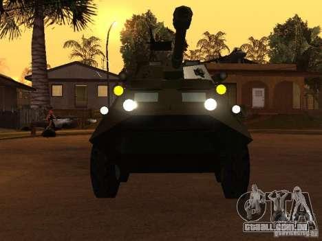 APC-60FSV para GTA San Andreas vista traseira