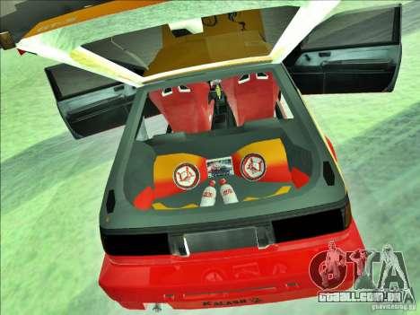 Toyota Trueno AE86 Calibri-Ace para GTA San Andreas vista traseira