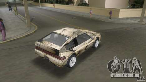 Blista rock stone stock para GTA Vice City deixou vista
