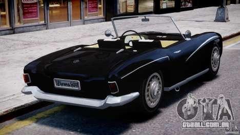 FSO Syrena Sport 1960 para GTA 4 traseira esquerda vista