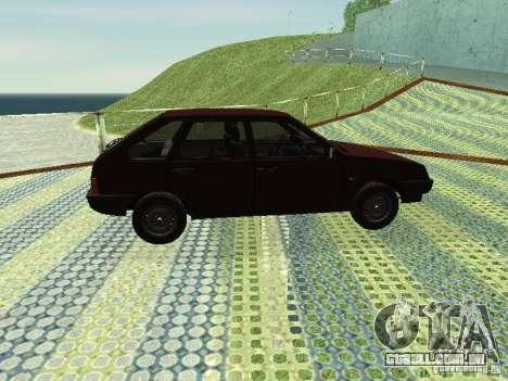 2109 Vaz para GTA San Andreas vista direita