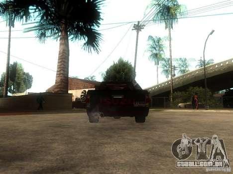 Isuzu D-Max para GTA San Andreas traseira esquerda vista