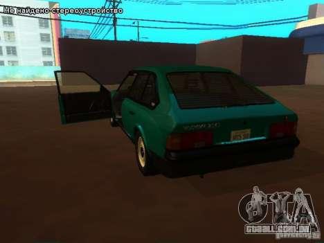 Moskvich 2141 para GTA San Andreas vista interior