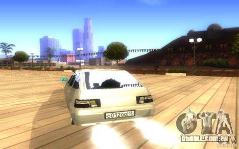 VAZ-2112 LT para vista lateral GTA San Andreas