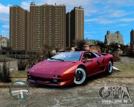 Lamborghini Diablo SV 1997 EPM v.2.3 para GTA 4