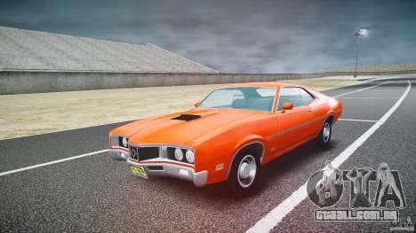Mercury Cyclone Spoiler 1970 para GTA 4 vista de volta