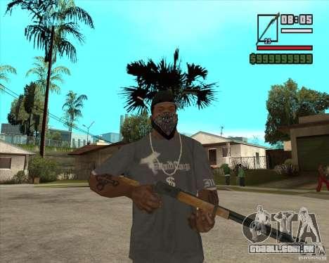 Call of Juarez Bound in Blood Weapon Pack para GTA San Andreas por diante tela