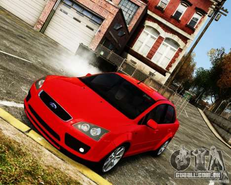 Ford Focus 2008 para GTA 4 vista direita