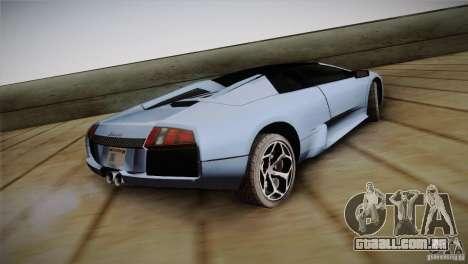 Lamborghini Murcielago Roadster para GTA San Andreas esquerda vista