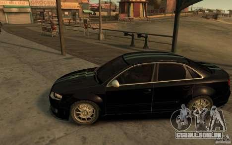 Audi RS4 para GTA 4 esquerda vista