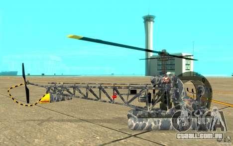 Sea Bell H13 para GTA San Andreas traseira esquerda vista