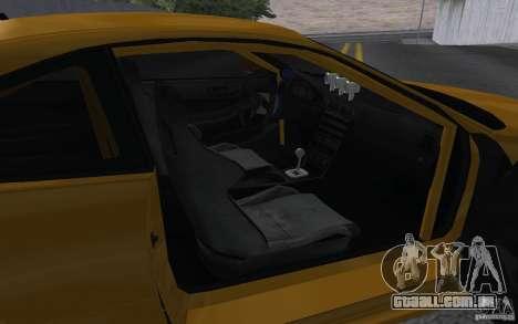 Acura Integra Type-R para GTA San Andreas vista traseira