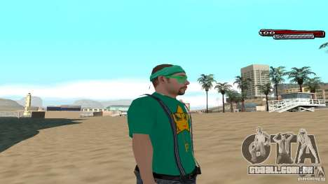 Skin Pack The Rifa Gang HD para GTA San Andreas terceira tela