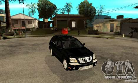 Chrysler Pacifica para GTA San Andreas vista traseira