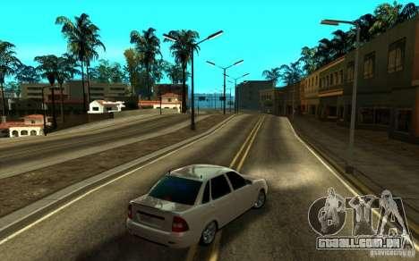 ENB SA: MP para computadores portáteis de médio  para GTA San Andreas por diante tela