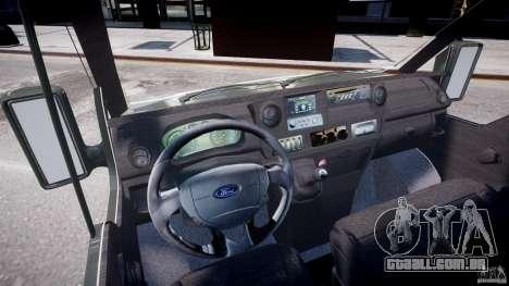 Ford Transit Pickup 2008 para GTA 4 vista direita