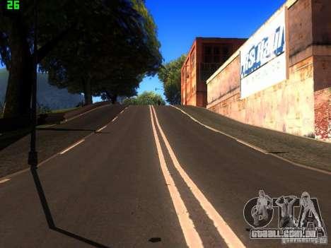 Roads Moscow para GTA San Andreas sétima tela