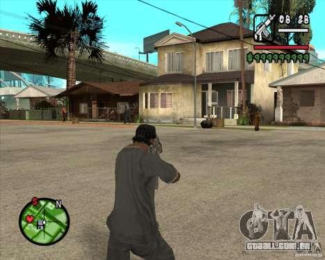 FAMAS de CoD Black Ops para GTA San Andreas segunda tela
