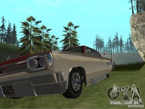 Vodu do GTA 4 para GTA San Andreas vista interior