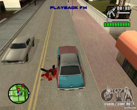 Change Hud Colors para GTA San Andreas sétima tela