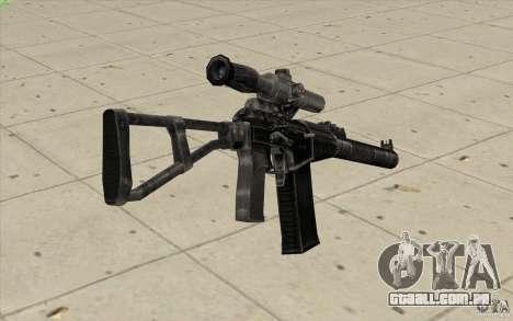 Como o Rifle de assalto do Val para GTA San Andreas segunda tela