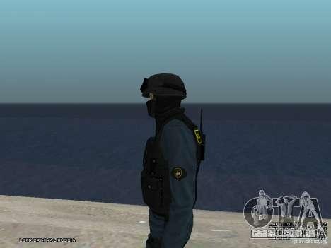 MOTIM policial para GTA San Andreas sétima tela